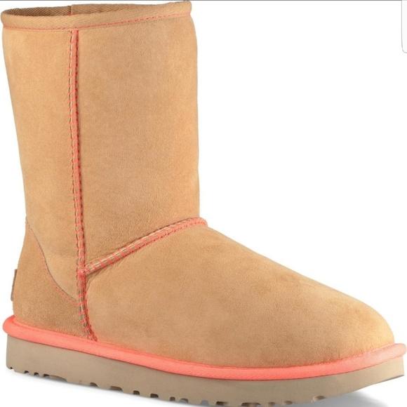 d0dac20e6d4 UGG Classic Short II Neon Winter Boots